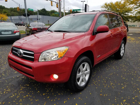 2008 Toyota RAV4 for sale at Cedar Auto Group LLC in Akron OH