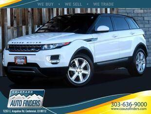 2014 Land Rover Range Rover Evoque AWD Pure Plus 4dr SUV - Centennial CO