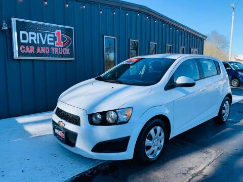 2016 Chevrolet Sonic for sale at Drive 1 Car & Truck in Springfield OH