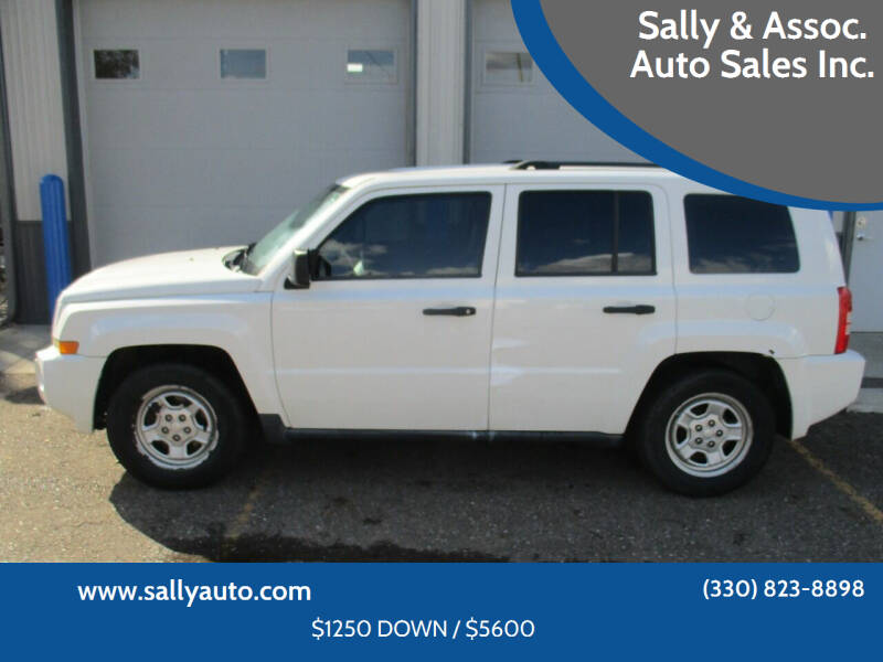 2008 Jeep Patriot for sale at Sally & Assoc. Auto Sales Inc. in Alliance OH