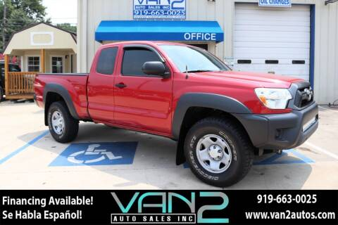 2015 Toyota Tacoma for sale at Van 2 Auto Sales Inc in Siler City NC