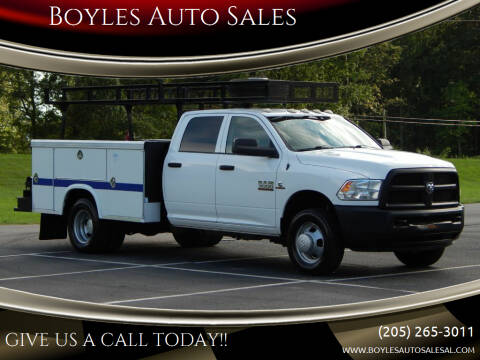 2014 RAM Ram Chassis 3500 for sale at Boyles Auto Sales in Jasper AL