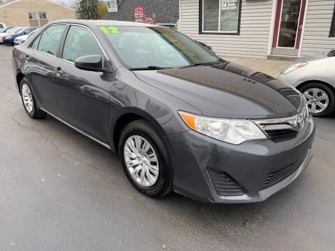 2012 Toyota Camry for sale at OZ BROTHERS AUTO in Webster NY