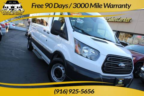 2016 Ford Transit Passenger for sale at West Coast Auto Sales Center in Sacramento CA