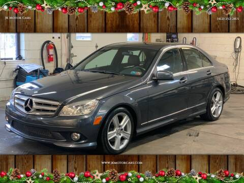 2010 Mercedes-Benz C-Class for sale at JK Motor Cars in Pittsburgh PA