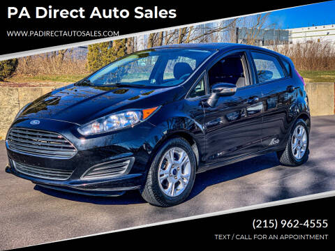 2015 Ford Fiesta for sale at PA Direct Auto Sales in Levittown PA