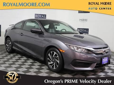 2018 Honda Civic for sale at Royal Moore Custom Finance in Hillsboro OR