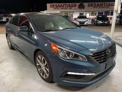 2015 Hyundai Sonata for sale at DESANTIAGO AUTO SALES in Yuma AZ