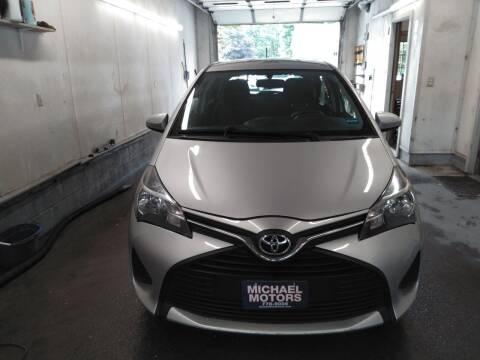 2016 Toyota Yaris for sale at MICHAEL MOTORS in Farmington ME