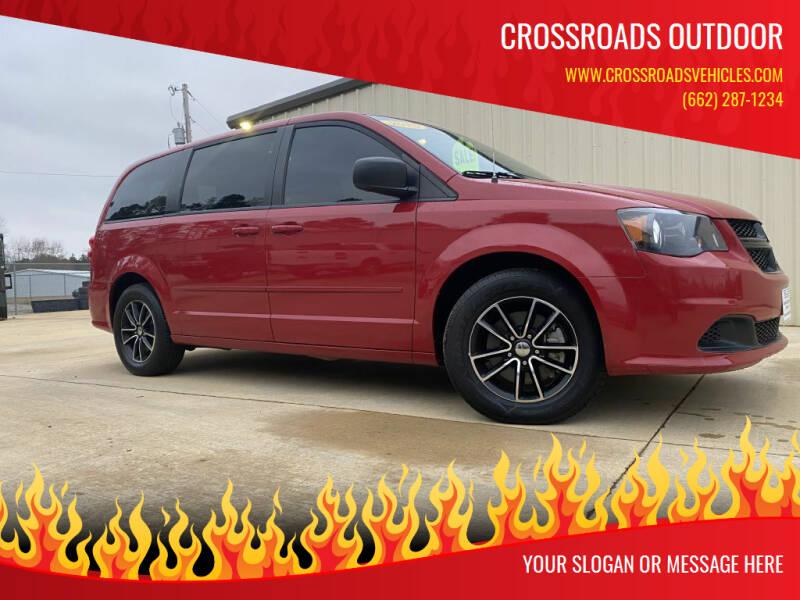 2015 Dodge Grand Caravan for sale at Crossroads Outdoor in Corinth MS
