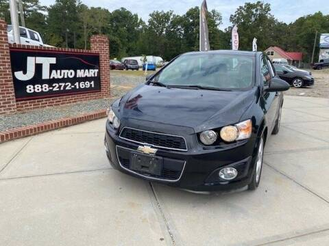 2015 Chevrolet Sonic for sale at J T Auto Group in Sanford NC