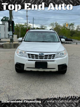 2011 Subaru Forester for sale at Top End Auto in North Atteboro MA