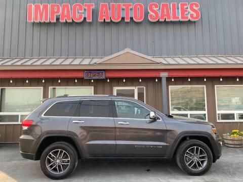 2017 Jeep Grand Cherokee for sale at Impact Auto Sales in Wenatchee WA
