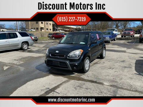 2012 Kia Soul for sale at Discount Motors Inc in Nashville TN
