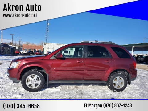 2007 Pontiac Torrent for sale at Akron Auto - Fort Morgan in Fort Morgan CO
