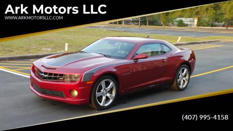 2010 Chevrolet Camaro for sale at Ark Motors LLC in Winter Springs FL
