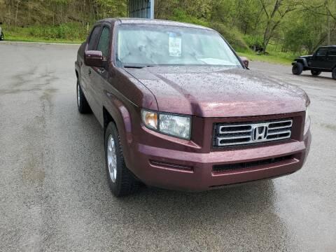 2008 Honda Ridgeline for sale at A - K Motors Inc. in Vandergrift PA