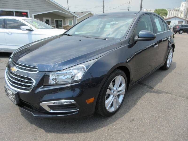 2016 Chevrolet Cruze Limited for sale at Dam Auto Sales in Sioux City IA