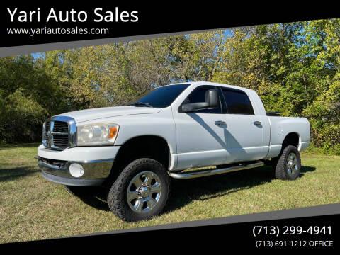 2006 Dodge Ram Pickup 2500 for sale at Yari Auto Sales in Houston TX