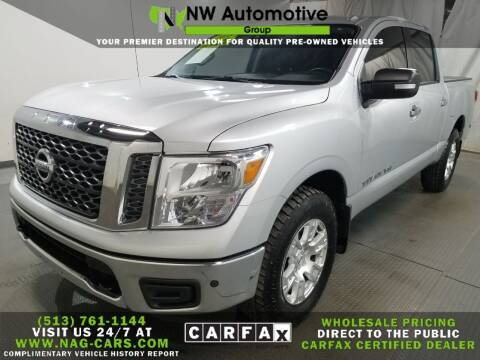2018 Nissan Titan for sale at NW Automotive Group in Cincinnati OH