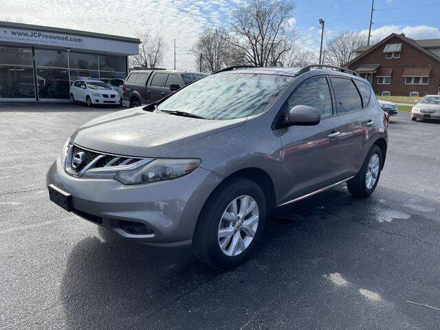 2012 Nissan Murano for sale at JC Auto Sales in Belleville IL
