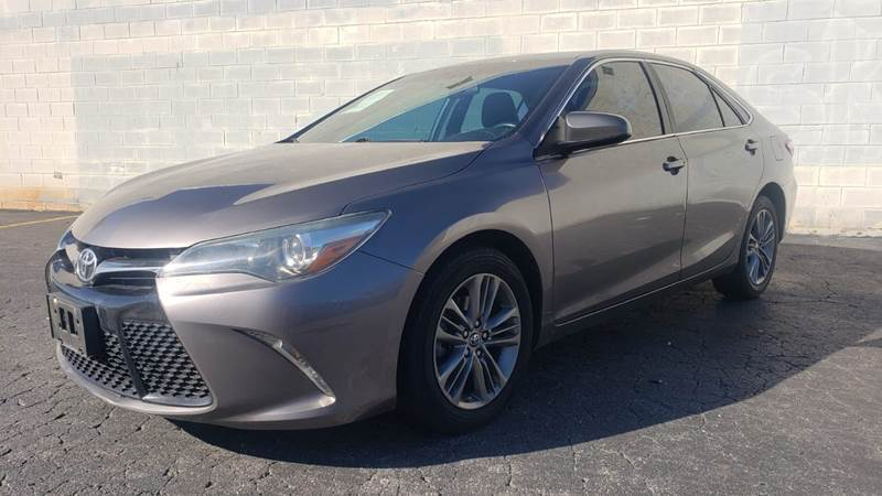 2016 Toyota Camry for sale at AUTO FIESTA in Norcross GA