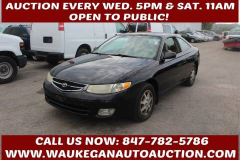 2001 Toyota Camry Solara for sale at Waukegan Auto Auction in Waukegan IL