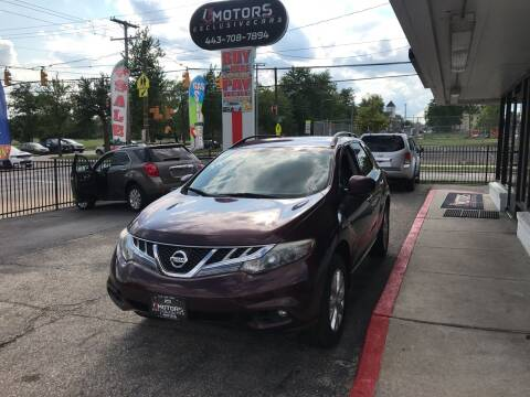 2013 Nissan Murano for sale at i3Motors in Baltimore MD
