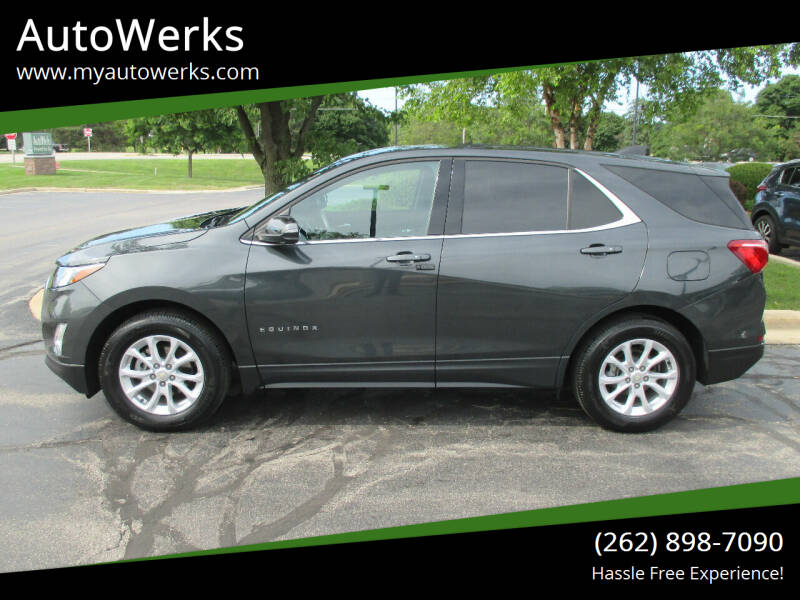 2018 Chevrolet Equinox for sale at AutoWerks in Sturtevant WI