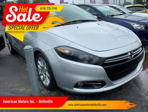 2013 Dodge Dart for sale at American Motors Inc. - Belleville in Belleville IL
