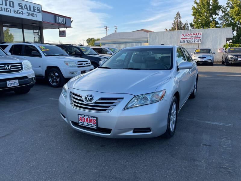 2009 Toyota Camry Hybrid for sale at Adams Auto Sales in Sacramento CA