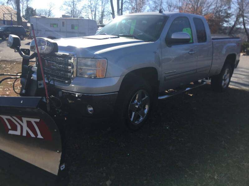 2013 GMC Sierra 2500HD for sale at BRATTLEBORO AUTO SALES in Brattleboro VT