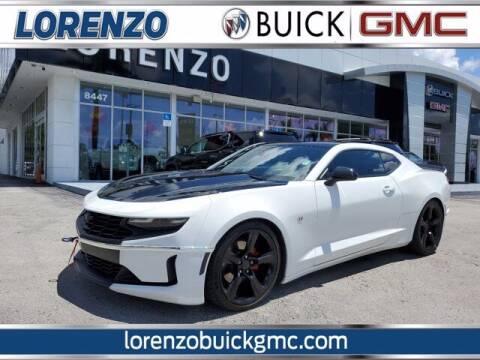 2020 Chevrolet Camaro for sale at Lorenzo Buick GMC in Miami FL
