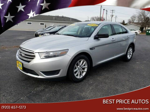 2013 Ford Taurus for sale at Best Price Autos in Two Rivers WI