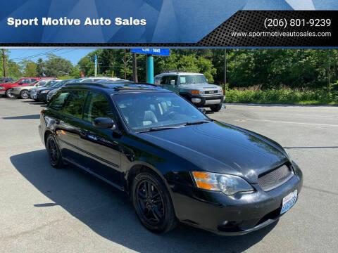 2005 Subaru Legacy for sale at Sport Motive Auto Sales in Seattle WA