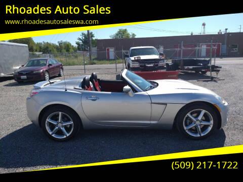 2007 Saturn SKY for sale at Rhoades Auto Sales in Spokane Valley WA