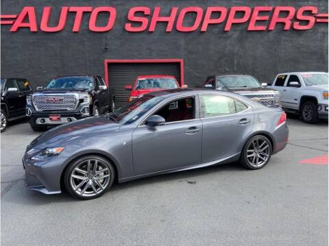 2016 Lexus IS 350 for sale at AUTO SHOPPERS LLC in Yakima WA