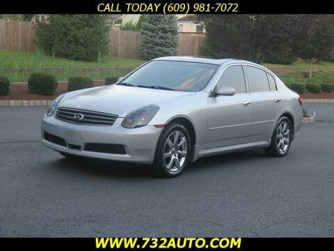 2006 Infiniti G35 for sale at Absolute Auto Solutions in Hamilton NJ