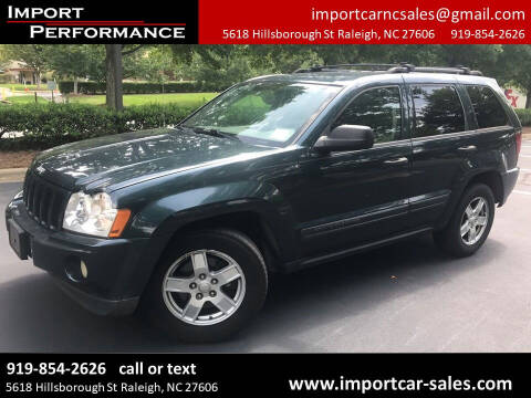 2005 Jeep Grand Cherokee for sale at Import Performance Sales - Henderson in Henderson NC