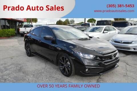 2020 Honda Civic for sale at Prado Auto Sales in Miami FL