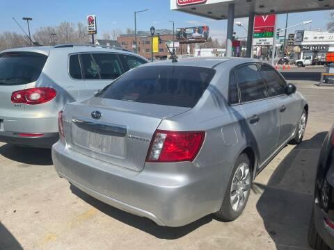 2008 Subaru Impreza for sale at Capitol Hill Auto Sales LLC in Denver CO