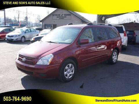 2008 Kia Sedona for sale at Steve & Sons Auto Sales in Happy Valley OR