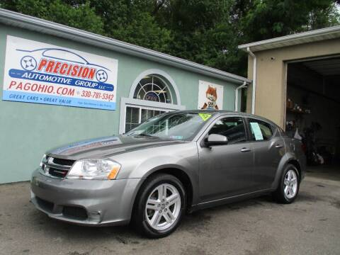 2012 Dodge Avenger for sale at Precision Automotive Group in Youngstown OH
