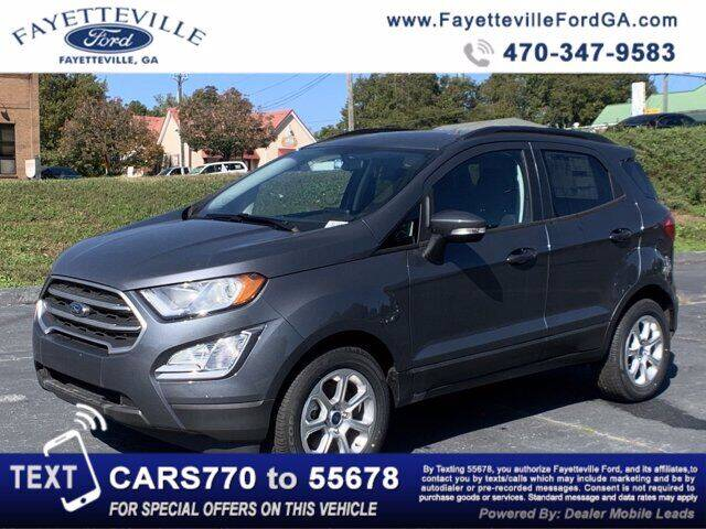 2020 Ford EcoSport for sale in Fayetteville, GA