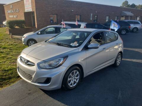 2014 Hyundai Accent for sale at ARA Auto Sales in Winston-Salem NC