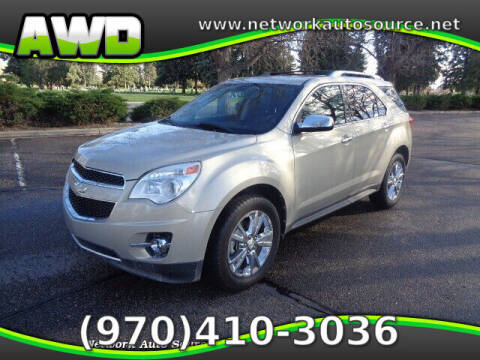 2010 Chevrolet Equinox for sale at Network Auto Source in Loveland CO