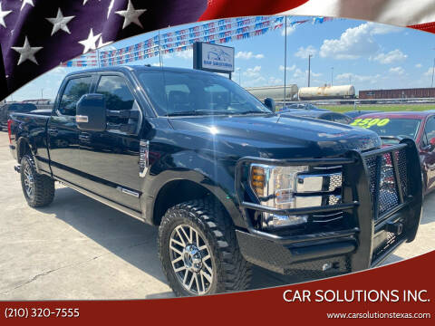 2018 Ford F-250 Super Duty for sale at Car Solutions Inc. in San Antonio TX
