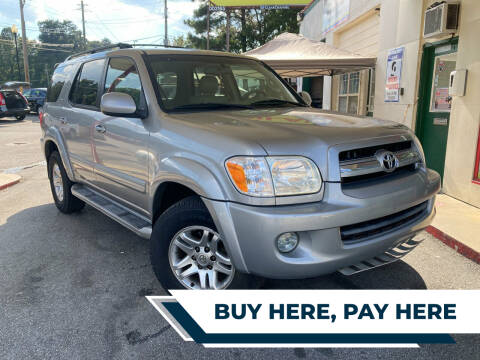 2006 Toyota Sequoia for sale at Automan Auto Sales, LLC in Norcross GA