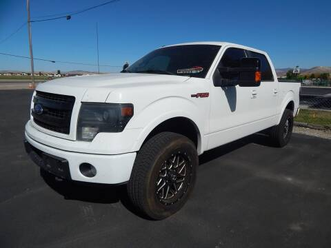 2013 Ford F-150 for sale at West Motor Company - West Motor Ford in Preston ID