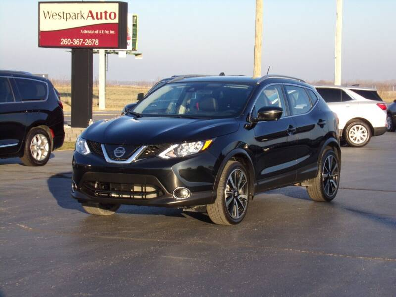 2019 Nissan Rogue Sport for sale at Westpark Auto in Lagrange IN